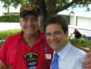 Congressman Bilirakis standing next to a military veteran